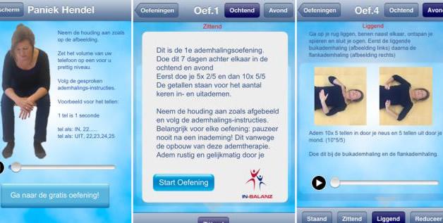 In Balanz app screenshots