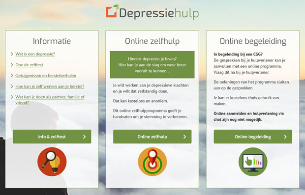Depressiehulp startpagina